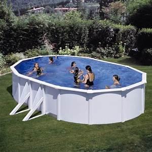 Piscine Hors Sol Metal : piscine hors sol atlantis 6 10 x 3 75 m h 1 32 m gre ~ Dailycaller-alerts.com Idées de Décoration