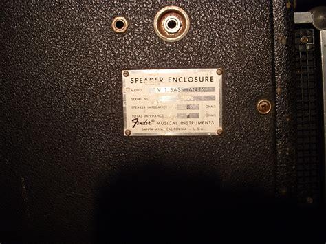 Fender Bassman Cabinet 2x15 Dimensions by Fender Bassman 2x15 Cabinet 1969 Image 1027278