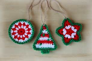 crochet patterns for christmas ornaments crochet for beginners