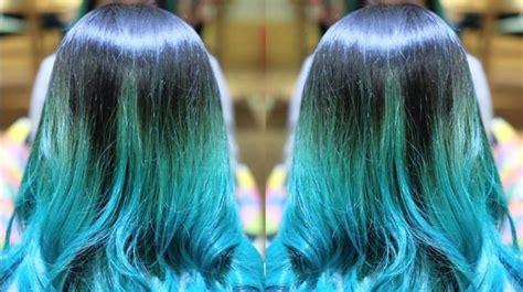 wanita  rambut warna warni dianggap berbahaya