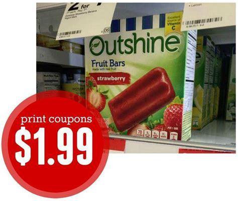 outshine bars coupons   box