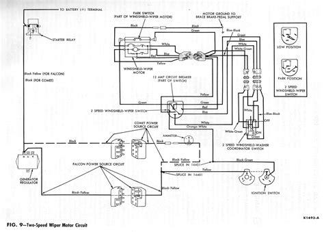 1964 Ford Falcon Wiper Wiring Diagram by 1964 Ranchero Delay Wipers