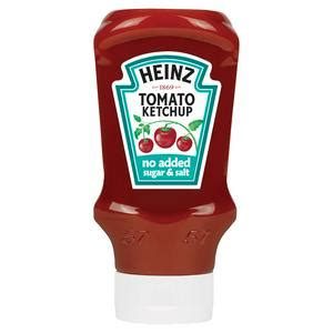 Heinz No Added Sugar or Salt Tomato Ketchup 425g | Endheri Ltd