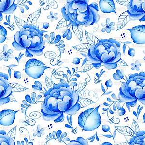 Blue Floral Background (41+ pictures)