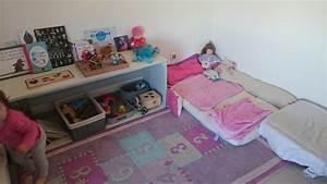 Lit Au Sol : installer un lit au sol montessori dans ma tribu ~ Teatrodelosmanantiales.com Idées de Décoration