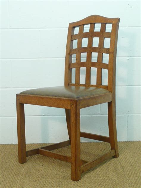 set of 6 heal s lattice back dining chairs antiques atlas