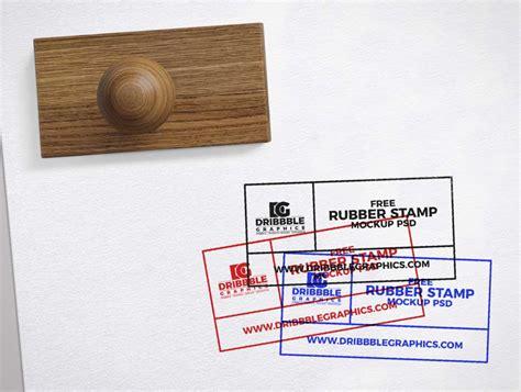 approved rubber stamp  paper psd mockup psd mockups