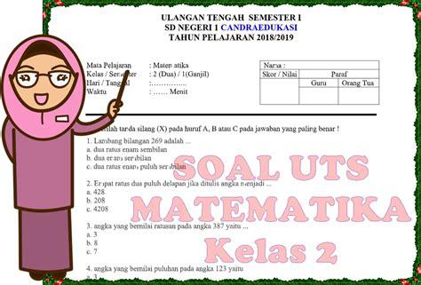 Jawaban soal matematika kelas 4 aplikasi pecahan hal 42. Soal UTS Kelas 2 Semester 1 Matematika Dan Kunci Jawaban ...