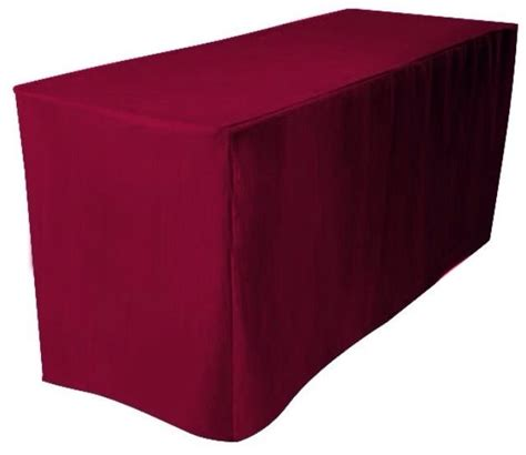 8 39 Ft Feet Fitted Polyester Tablecloth Trade Show Booth