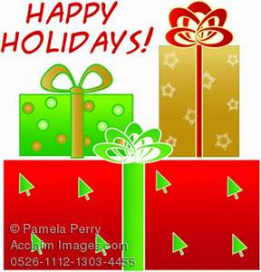 happy holidays clipart images and stock photos