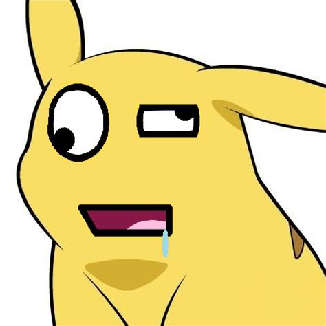 Derp Meme Face - image 31410 give pikachu a face know your meme