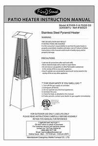 Firesense Ph08-ss Manuals