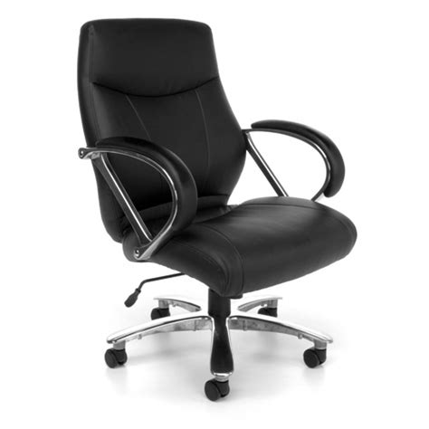 ofm avenger series 811 lx leather big and office chair