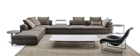 canapé b b italia sofá composable de tela de esquina michel by b b
