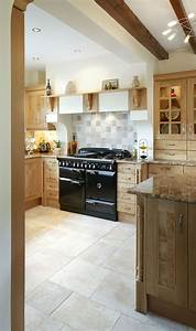 the aga rangemaster elan range cooker in a country style With kitchen design with range cooker