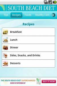 South Beach Diet - Android Market