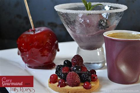 recette mini dessert pour cafe gourmand cafe gourmand fruits rouges pour culino versions kaderick