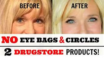 REMOVE Under Eye BAGS & CIRCLES With 2 DRUGSTORE Products