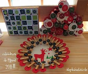 Idée Cadeau Calendrier De L Avent Adulte : faire soi m me un calendrier de l avent avec des pinces ~ Melissatoandfro.com Idées de Décoration