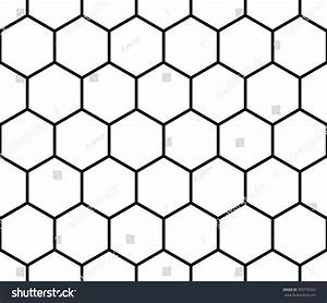 Seamless Monochrome Pattern Background Octagon Shapes ...