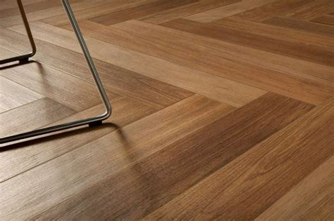 Parquet Wood Look Scene Walnut 3   BV Tile and Stone