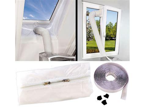 Feste Klimaanlage Für Wohnung by Sichler Haushaltsger 228 Te Abluft Fensterabdichtung F 252 R
