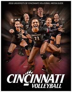 2016 University Of Cincinnati Volleyball Media Guide By