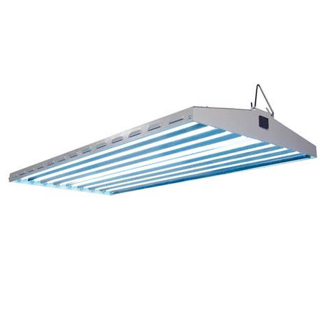 new wave 4 foot t5 fluorescent grow light fixtures