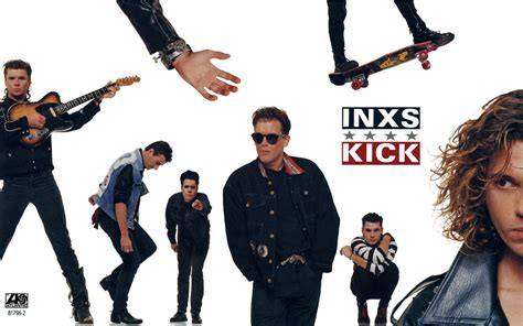 inxs kick gatefold  desktop wallpaper