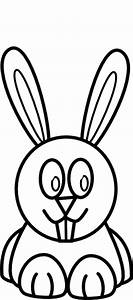 Black And White Bunny Clip Art at Clker.com - vector clip ...
