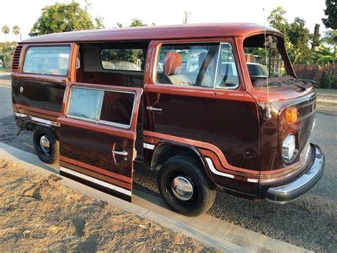 volkswagen van bubbly bus 1978 volkswagen chagne edition van