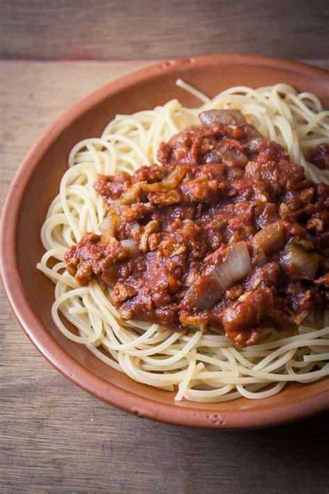 cuisine pour debutant spaghetti bolo véganes aux pst cuisine végane pour