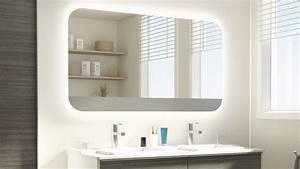 Les concepteurs artistiques: Miroir salle de bain avec lumiere leroy merlin