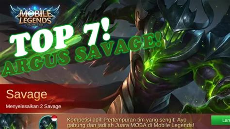 Top 7 The Best Argus Savage Compilation