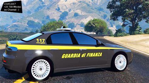 test guardia di finanza alfa romeo 159 guardia di finanza new enb top speed test