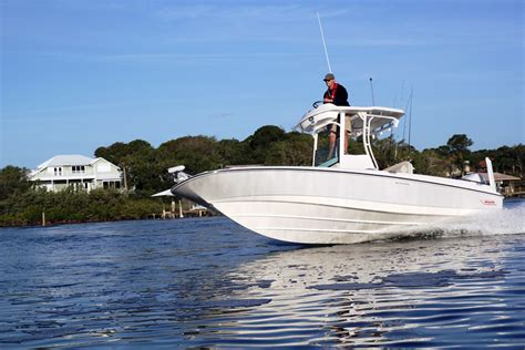 Whaler Fishing Boats by Boston Whaler Debuts 24 Foot Fishing Boat Trade Only Today