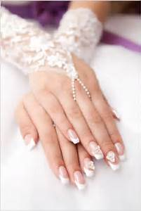 Attractive spring wedding nail art designs must try