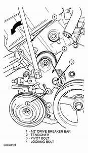 2004 Dodge Intrepid Serpentine Belt Routing And Timing