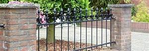 Gartenzäune Aus Metall Günstig : gartenzaun aus metall kaufen zauncenter smart ~ Lizthompson.info Haus und Dekorationen