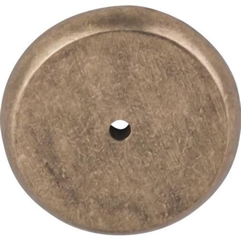 Cabinet Hardware Backplates Bronze by Top Knobs Decorative Hardware M1466 Knob Backplates