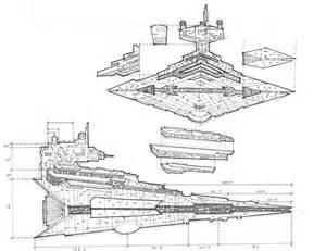 Star Wars Imperial Destroyer Blueprints