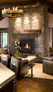 Rustic, Living, Room, Design, Love, This, Space, With, All, The