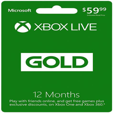 Maybe you would like to learn more about one of these? Microsoft Xbox LIVE 12 Month Gold Membership (Physical Card) | eBay