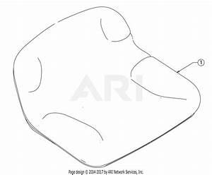 Troy Bilt 13wn77bs011 Pony  2017  Parts Diagram For Seat