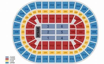 Seating United Center Concert Chart Blackhawks Floor