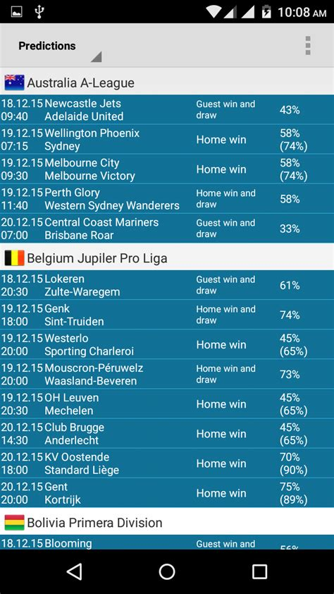 bet prediction apps  soccer gamblers