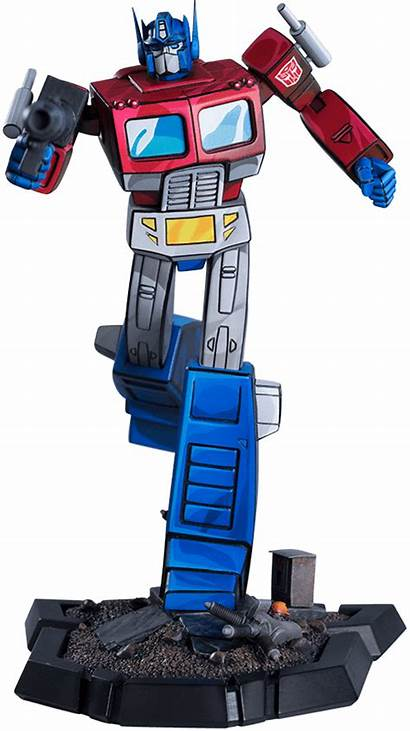 Prime Optimus Transformers Classic Statue Pcs Sideshow