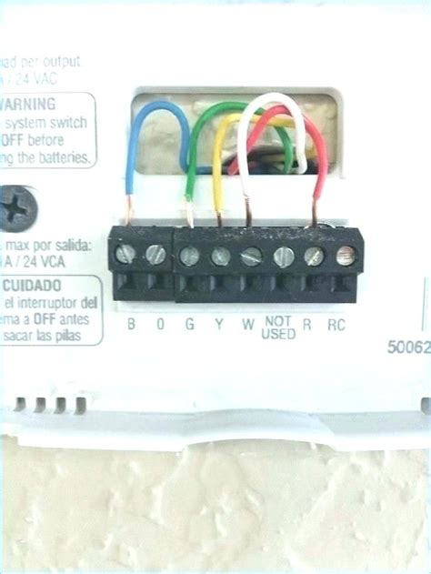 Honeywell Thermostat Wiring Diagram Manual by Honeywell Pro 3000 Thermostat Geekslife Club