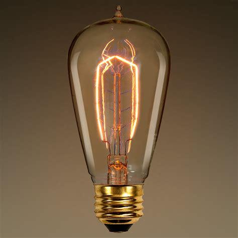 40 watt edison light bulb hairpin filament