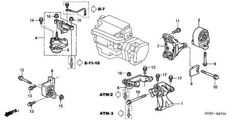 Genuine Honda Stopper Engine Cvt
